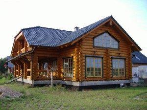 Дом из бревна(2)