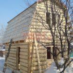Дом 3 на 5 с ломаной крышей