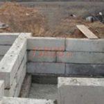 Блочный фундамент под цокольный этаж