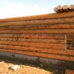 Блочный фундамент для дома из бревна