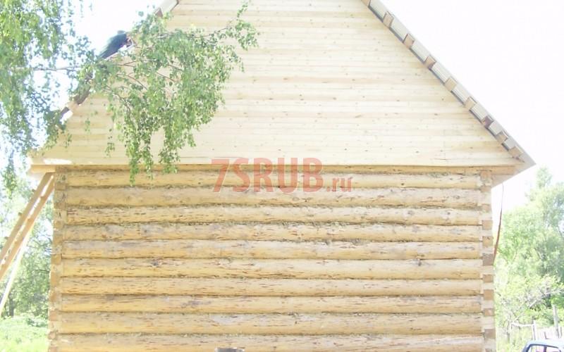 Сруб дома 5 на 6 метров