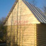 Сруб дома 4 на 5 метров(3)