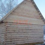 Сруб дома 4 на 5 метров с верандой(5)