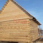 Сруб дома 5 на 5 метров с верандой(4)