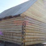 Сруб дома 5 на 6 метров с верандой(5)