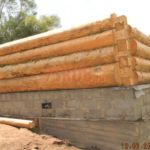 Ленточный фундамент деревянного дома
