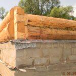 Ленточный фундамент для срубового дома