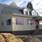 Отделка сруба деревянного дома снаружи