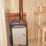 Печь для бани готовый вариант