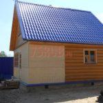 Реализованный сруб дома