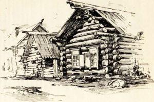 Рисованый дом