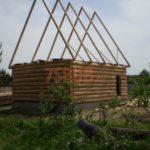 Сруб дома 5 на 5 метров(2)