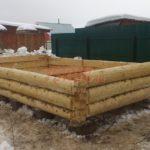 Столбчатый фундамент под баню 4 на 5