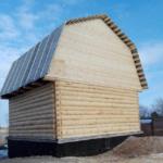 готовый сруб дома из бревна под ключ